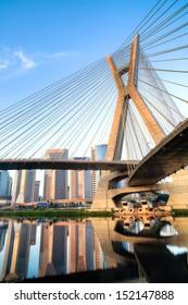 Estaiada Bridge Sao Paulo - Brazil