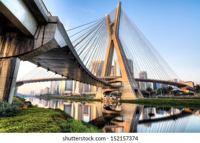 Estaiada Bridge, Sao Paulo, Brazil, South America