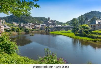 Estaing Medieval Village Aveyron Central France