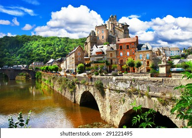 Estaing -one of the most beautiful villages of France