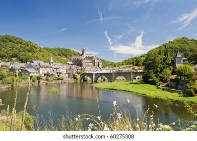 Estaing Village in Southern France