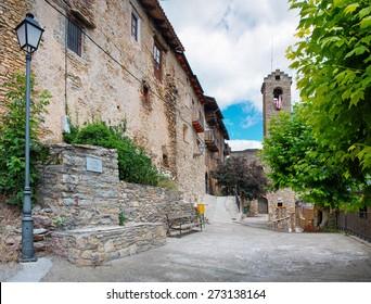Estamariu in comarca of Alt Urgell, Lleida, Catalonia, Spain.