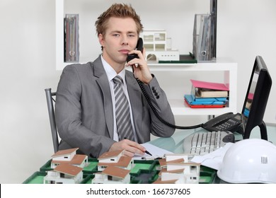 Estate agency office