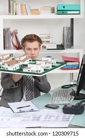 Estate agent's office