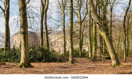 Estate and castle Stoutenburg in the county Utrecht in the Netherlands