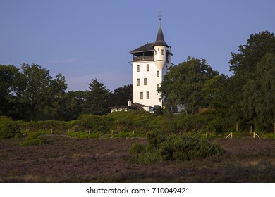 Estate De Sprengenberg with Palthe tower, Sallandse Heuvelrug NP, Overijssel, Netherlands