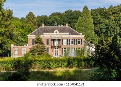 Estate and manor house  Mariendaal near Arnhem in Gelderland the Netherlands