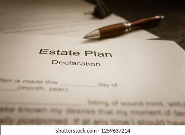 An Estate Plan document