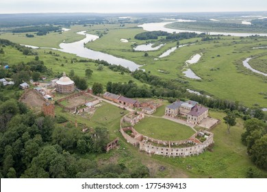 The estate of the Priklonsky Rukavishnikovs on the banks of the Oka river in the Nizhny Novgorod region