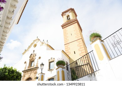 Estepona - typical white town in Andalusia, Spain