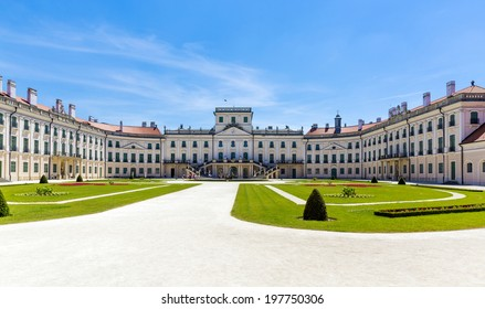 The Esterhazy Castle in Fertod, Hungary