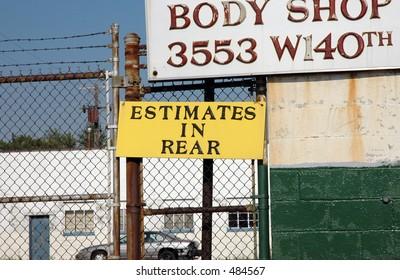 Estimates in rear!!!