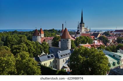 Estonia, Tallinn, Vanatallinn