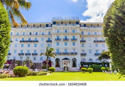 ESTORIL, PORTUGAL - JULE 23, 2018.  Estoril Hotel, Estoril, Portugal.