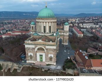 Esztergom Basicila, Esztergomi Bazilika, The Primatial Basilica of the Blessed Virgin Mary Assumed Into Heaven and St Adalbert is an ecclesiastic basilica in Esztergom, Hungary.