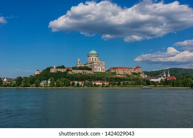 Esztergom Basilica, Hungary from the opposite site or river Danube