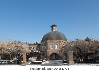 Etchmiadzin historical complex in Vagharshapat, Armenia.