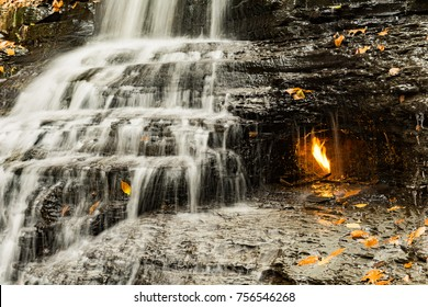 Eternal Flame Waterfall