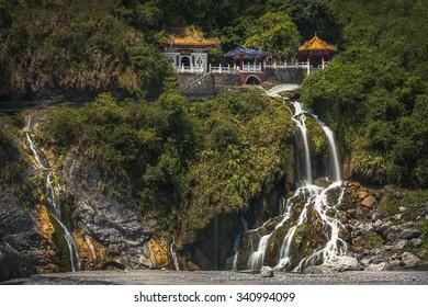 Eternal Spring Shrine in Toroko Gorge