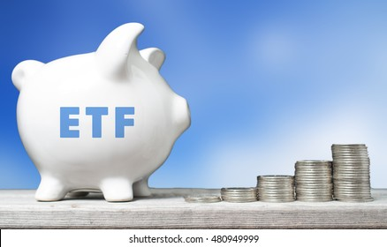 ETF investment concept
