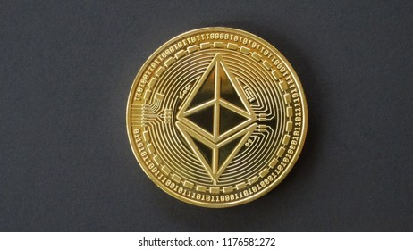 Ethereum, crypto curreny coins, digital money, blockchain