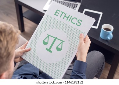 ETHICS ICON CONCEPT