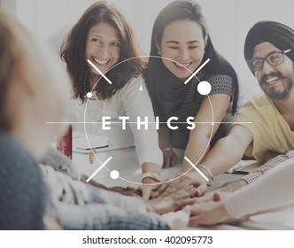 Ethics Values Virtues Morality Fairness Ideals Concept