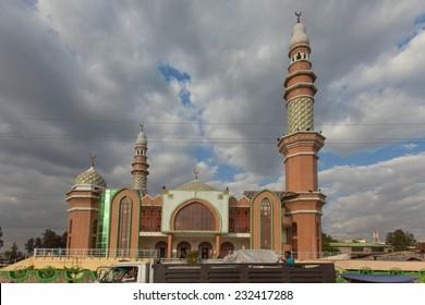 ETHIOPIA ADDIS ABABA DECEMBER 12, 2013. Muslim mosque in Ethiopia Addis Ababa December12, 2013.