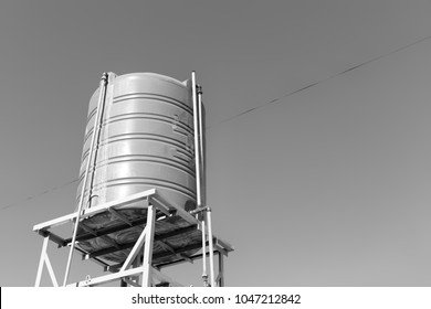 ethiopia africa  in   the roof the water tank structure like concept of recycling