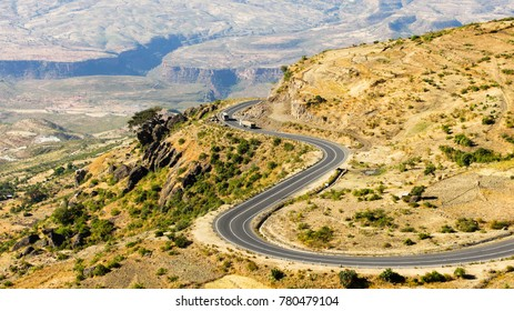 Ethiopia Great Rift Valley Road