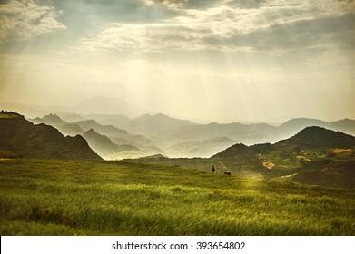 Ethiopia. Rural landscape. Africa