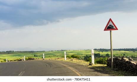 Ethiopian Riding Road