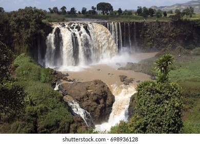 Ethiopian waterfall