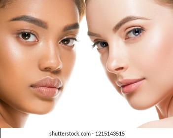 Ethnic beauty women skin beauty cosmetic female portrait