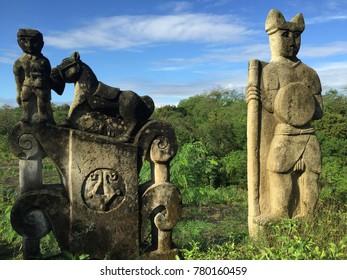 Ethnic Sculpture at Sumba