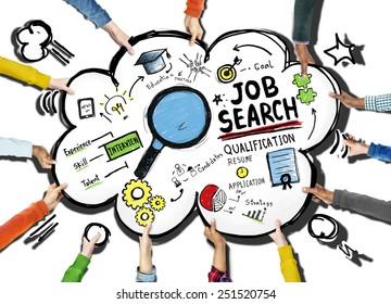 Job Hunting Cartoons Images Stock Photos Vectors Shutterstock