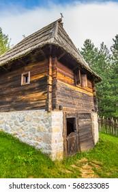 Ethno village Sirogojno in Zlatibor surroundings, Serbia.