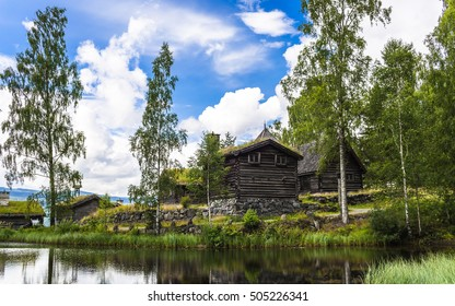 Ethnographic Museum Maihaugen  is one of the most visited tourist attractions in Lillehammer, Norway.