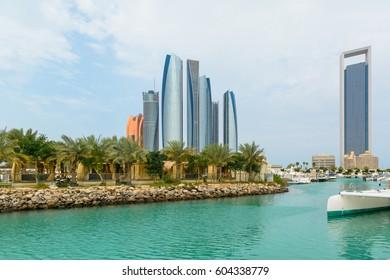 Etihad Towers, Abu dhabi - UAE  photo taken on: 3/3/2017