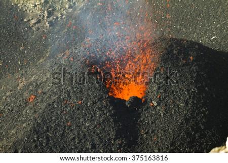 etna eruption 2012 stock photo edit now 375163816 shutterstock