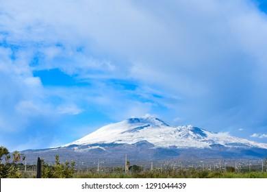 Etna volcano, January 2019