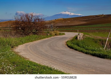 Etna Volcano. Road-trip in Sicily - South Italy - landscape. Others in my gallery