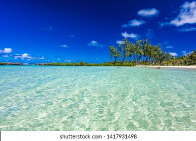 Eton Beach on Efate Island, Vanuatu, near Port Vila - famous beach on the east coast