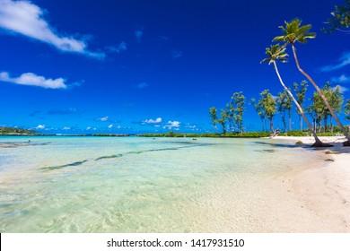Eton Beach on Efate Island, Vanuatu, near Port Vila - famous beach on the east coast