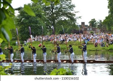 Eton, Berkshire / United Kingdom June 17th 2017: Eton boat parade