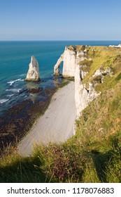 Etretat, Normandy, France.