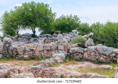 Etri ruins near Beit Shemesh, village from the second temple period. Israel