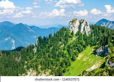 ettaler mandl mountain near garmisch-patenkirchen