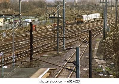 eu europe uk united kingdom great britain england passenger train