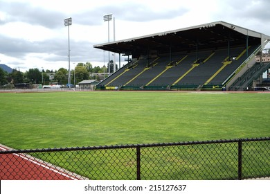 EUGENE, OR - August,22, 2014: Historic Hayward Field at the University of Oregon.